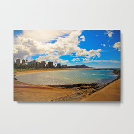 Diamond head view  Metal Print