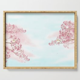 A day for cherry blossom | Miharu Shirahata Serving Tray