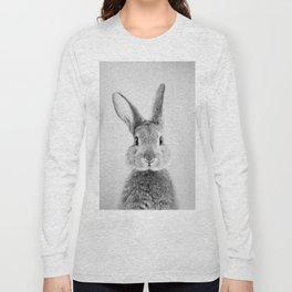 Rabbit - Black & White Long Sleeve T-shirt