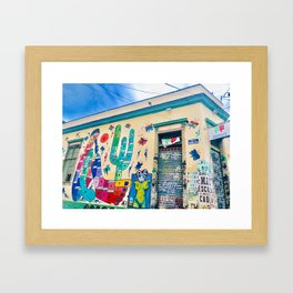 Brazilian Alleyway Framed Art Print