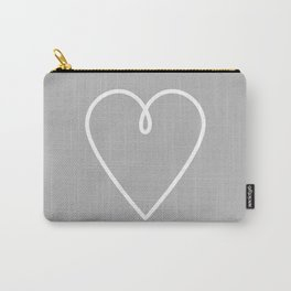 MINIMALIST HEART Carry-All Pouch
