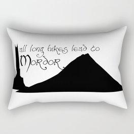 All Long Hikes Lead Rectangular Pillow