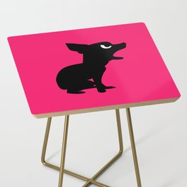 Angry Animals: Chihuahua Side Table