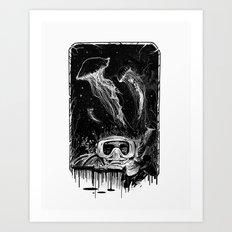 Underwater Vision Art Print