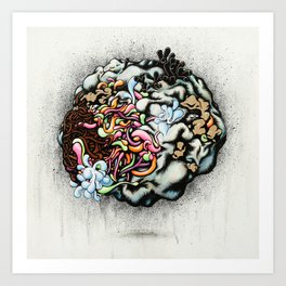 Isolating the Collective Unconscious Art Print