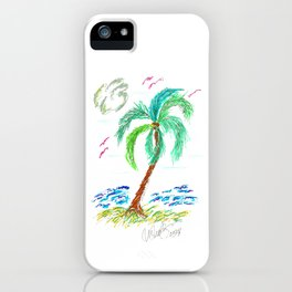 """Beach Afternoon"" iPhone Case"