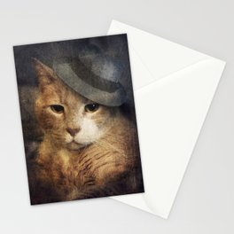 Vinnie Valentino - Ginger Cat Portrait Stationery Cards