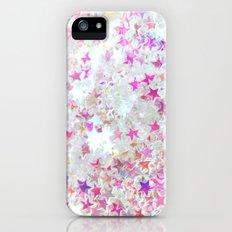 Pink Stars iPhone (5, 5s) Slim Case
