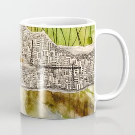 crowded city Coffee Mug