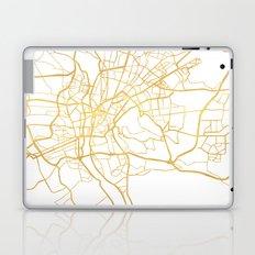 CAIRO EGYPT CITY STREET MAP ART Laptop & iPad Skin