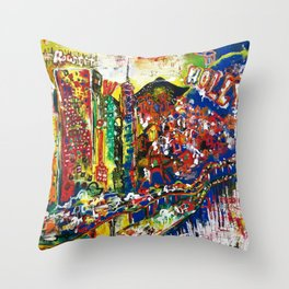 Hollywood Dreams Throw Pillow