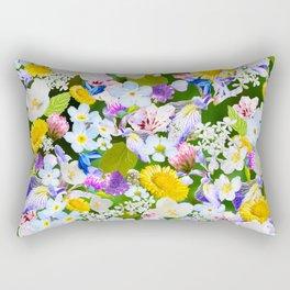 Flower mess Rectangular Pillow