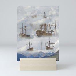 Cloudships Mini Art Print