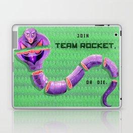 Join Team Rocket, or Die (Arbok) Laptop & iPad Skin