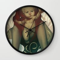 religious Wall Clocks featuring Singularity by Dave E. Phillips