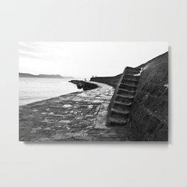 The Cobb, Lyme Regis, Dorset Metal Print