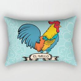 El Gallo Rectangular Pillow