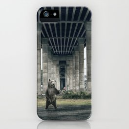 Bear sighting iPhone Case