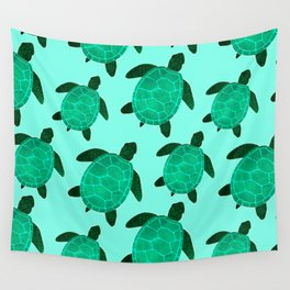 Turtle Totem Wall Tapestry
