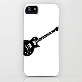 Black Guitar iPhone Case