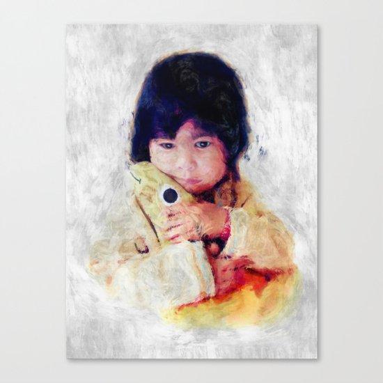 comfort Canvas Print