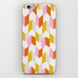 delilah, chevron pattern iPhone Skin