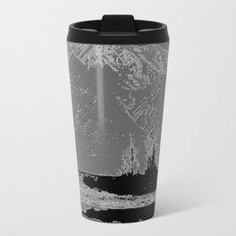 Knik River Mts. Pop Art - 3 Travel Mug