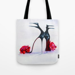 Luxury shoes Tote Bag
