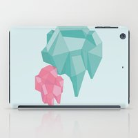 crystals iPad Cases featuring crystals by Black