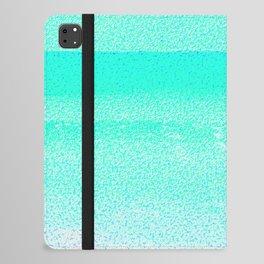 Blissful Beach - Turquoise Wave iPad Folio Case