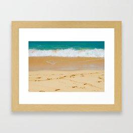 Shoreline Beach Framed Art Print