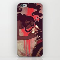 zuko iPhone & iPod Skins featuring Zuko and Katara by Matereya