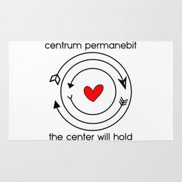 Centrum permanebit | The center will hold Rug