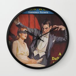 Detective Fiction Weekly - October 2nd 1937 Wall Clock