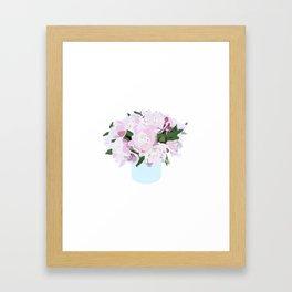 Peonies No. 1 Framed Art Print