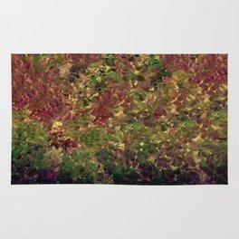 Floral Fantasy Fall Abstract Rug