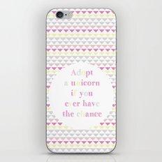 Adopt a Unicorn iPhone & iPod Skin