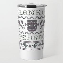 Frankly Speaking Frankenstein ASCII Travel Mug