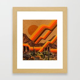 SOLAR Framed Art Print