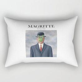 Magritte - The Son of Man Rectangular Pillow
