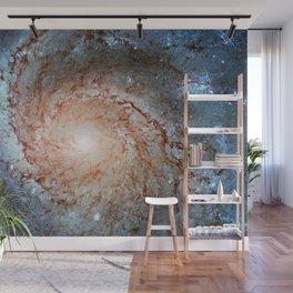 Pinwheel Galaxy Messier 101, M101 in the constellation Ursa Major Wall Mural