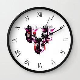 Three Wise Monkeys (Weird) Wall Clock