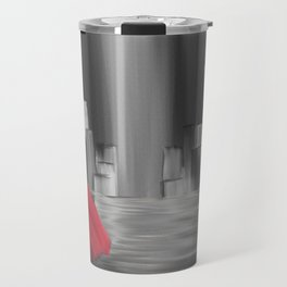 Girl With A Red Cape Travel Mug