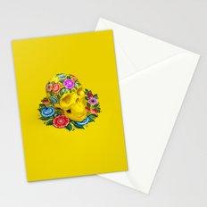 Gorodec Skull Stationery Cards