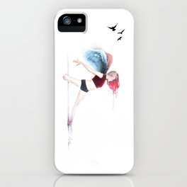 Pole Angel Justine iPhone Case