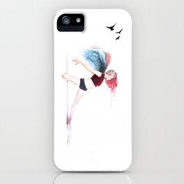 Pole Angel Justine iPhone Case