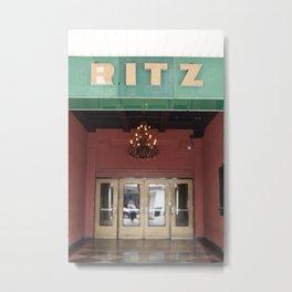 Vintage Ritz Metal Print