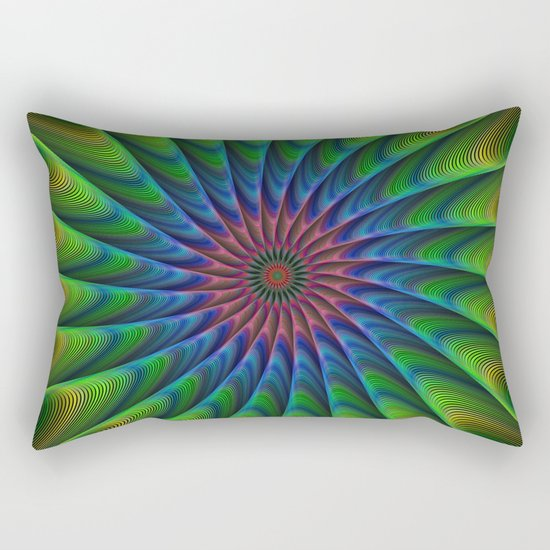 Fractal Rectangular Pillow
