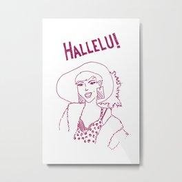 Hallelu! Metal Print