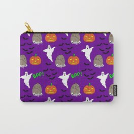 Spooky halloween print Carry-All Pouch